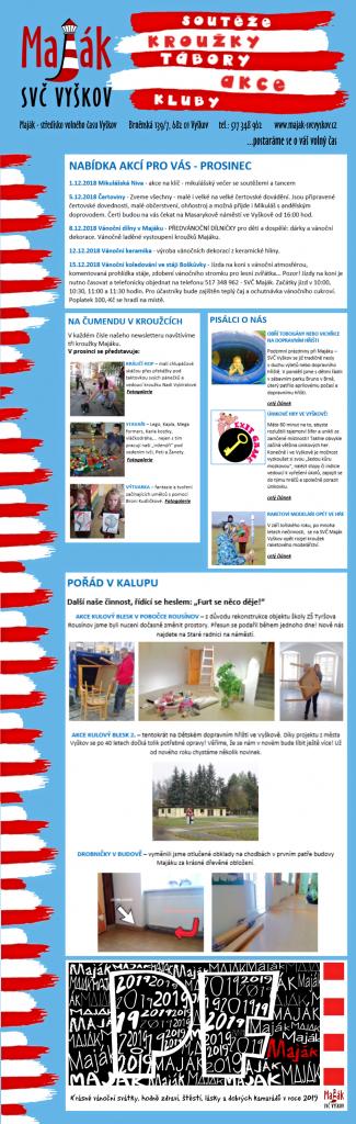 newsletter prosinec